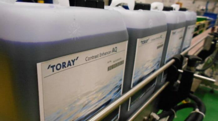 Toray Graphics, Wasserloser Offset,