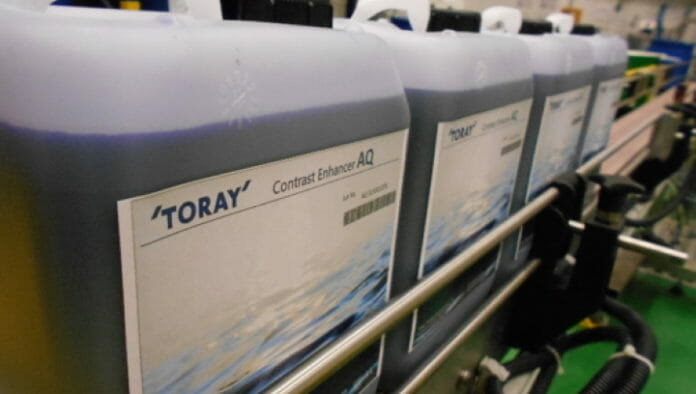 Toray Graphics, Wasserloser Offset,