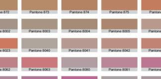 Pantone, Metallicfarben,