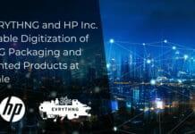 HP Indigo, Evrythng, Digitalisierung,