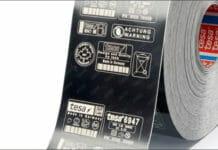 tesa, Laserkennzeichnung