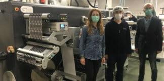 Grafisk Maskinfabrik, Doga Etiket, Finishing, Converting,