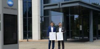 Konica Minolta, DEKRA, ISO 14001, Zertifizierung,