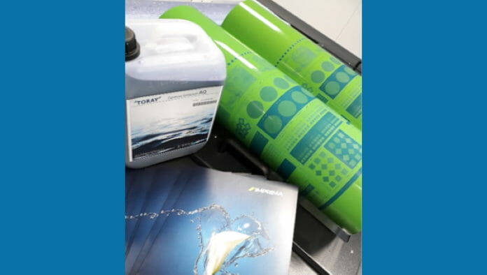 Toray Graphics, Wasserloser Offset