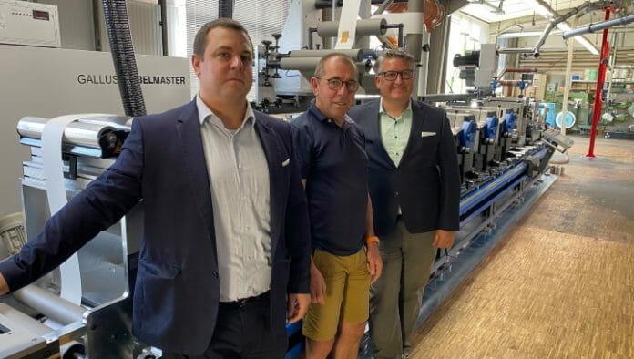 Gallus, Gallus Labelmaster, Etiketten-Becker