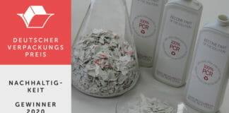 Herma, schäfer-etiketten, Recyclingfolien, Deutscher Verpackungspreis,