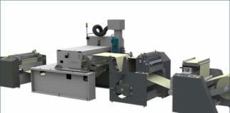 Grafisk Maskinfabrik,ebeam Technologies, Beschichtung, ESH-Härtung,