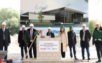 FOLLMANN Die Chemie-Gruppe investiert an seinem Firmenstandort im westfälischen Minden in ein modernes Technologie- und Wissenszentrum. Am 9. Oktober 2020