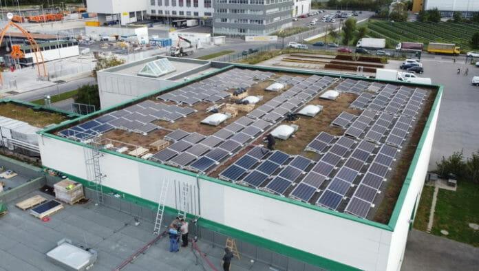 Insignis Etiketten, Solarpanels, Solarenergie, Photovoltaik,