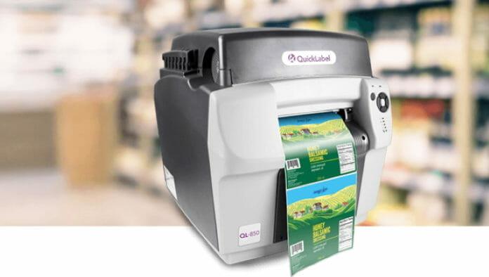 AstroNova, Quciklabel, Farbetikettendrucker,