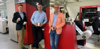 Xeikon, LaboPrint, Papierbecher,