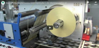 Domino, Imprimerie Billet