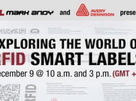 Mark Andy, Avery Dennison, RFID-Etiketten,