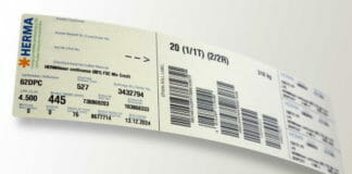 Herma, Etikettenmaterial, Recyclingpapier,