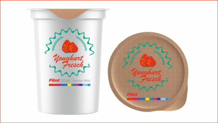 Flint Group, UV-Flexodruckfarbe,