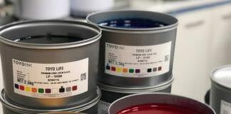 Toyo Ink, Druckfarben, Low-Migration Farben,