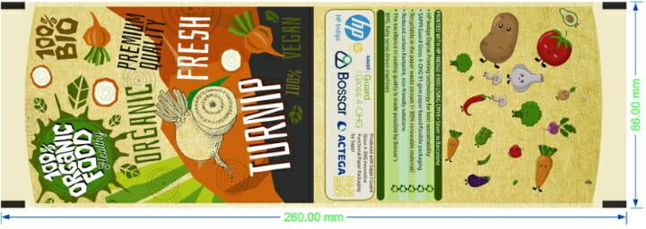 Sappi, HP Indigo, flexible Verpackungen,