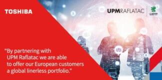 UPM Raflatac, Toshiba Tec, Linerless,