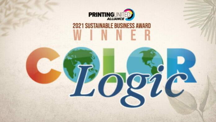 ColorLogic, Printing United Alliance, Nachhaltigkeit,