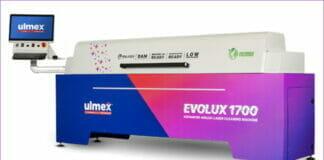 Ulmex, Laserreinigung, Rasterwalze