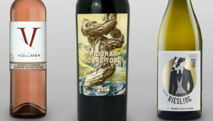 Etiketten Carini, Finat Label Competition,