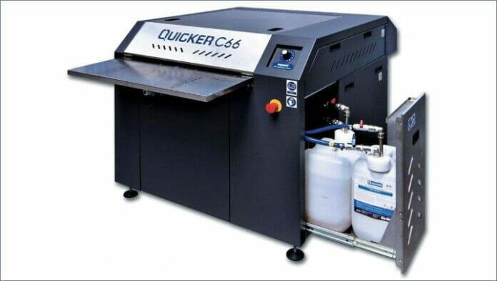 Print Systems, Plattenreinigung,