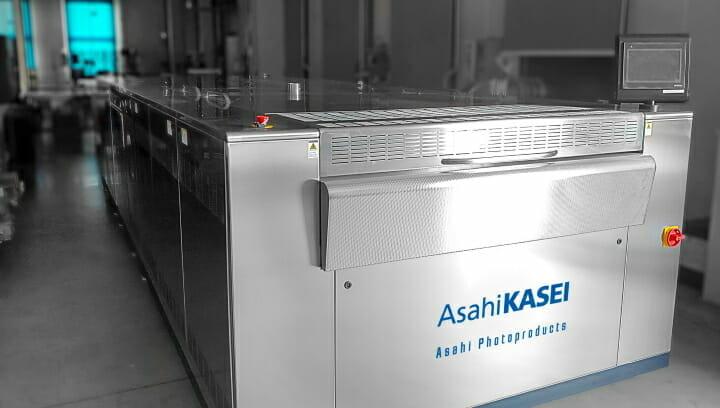 Nu-Maber, Asahi Photoproducts, Flexodruckplatten, Fotopolymerplatten,