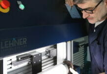 Lehner Sensor Systeme, FlexoMatrix, Plattenmontage, Flexosleeve,