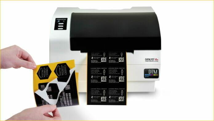 DTM Print, Primera Technology, Laserkennzeichnung,
